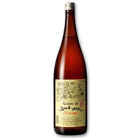 林農園 五一わいん エコノミー ロゼ 1.8L [ロゼワイン やや甘口]【果実酒 ワイン お酒 五一ワイン Economy 一升瓶 日本 信州 桔梗ケ原】《あす楽》