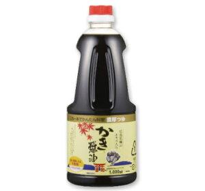 アサムラサキ かき醤油 1L (1000ml)【牡蠣しょうゆ つゆ しょうゆ】