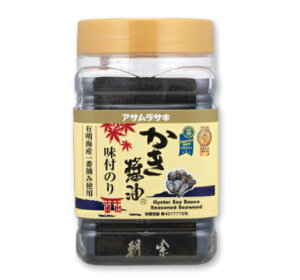 アサムラサキ かき醤油味付のり (8切60枚入) 【のり 味付けのり 味付け海苔 味付海苔 ごはんのおとも】