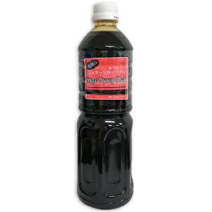 中日本氷糖 シュガーシロップ クロ 1L [馬印]【シロップ 黒 アイスコーヒー用 砂糖 業務用 大容量 お徳用】