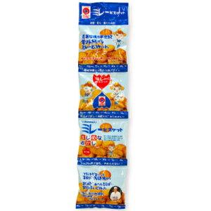 野村煎豆加工店 4連ミレービスケット (塩) 30g×4袋