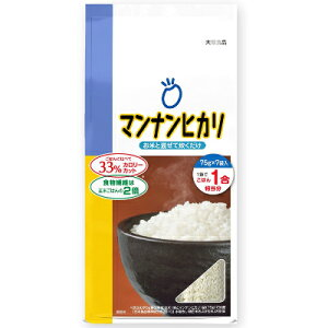 大塚食品 マンナンヒカリ スティックタイプ 525g(75g×7袋)【こんにゃく米 こんにゃくごはん ヘルシー米】