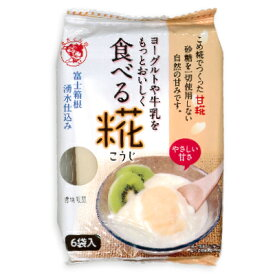 伊豆フェルメンテ ヨーグルトや牛乳をもっとおいしく 食べる糀 30g×6袋 《ポイント消化に!》