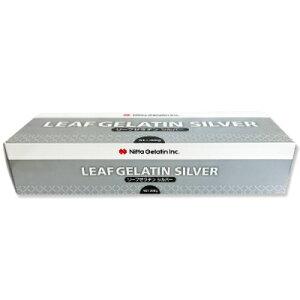 新田ゼラチン リーフゼラチン シルバー 300g [板ゼラチン]【リーフ ゼラチン 冷菓 ゼリー ムース 製菓材料】