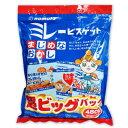 野村煎豆加工店 ミレービスケット 超ビッグパック 480g(30g×16袋) 《あす楽》