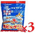 野村煎豆加工店 ミレービスケット 超ビッグパック 480g(30g×16袋) 3パック 《あす楽》