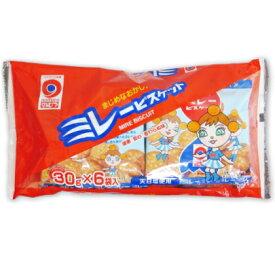 野村煎豆加工店 ミレービスケット(赤) 30g×6袋 《ポイント消化に!》