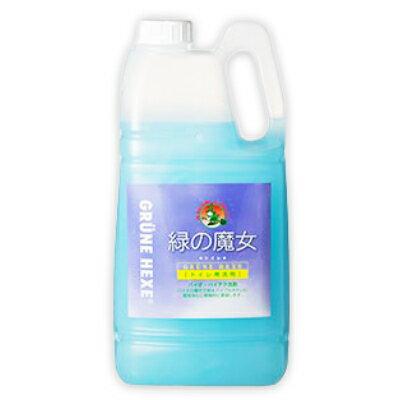 緑の魔女 トイレ (トイレ用洗剤) 2L ミントの香り [ミマスクリーンケア]【トイレ掃除 液体洗剤 詰め替え 詰替 業務用 お徳用】《あす楽》