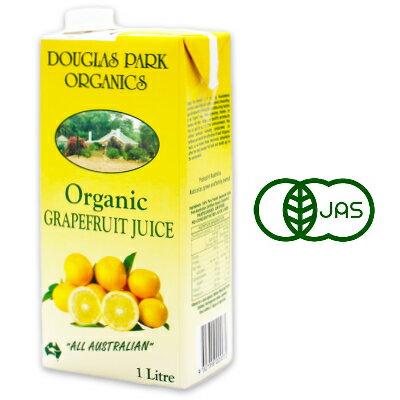 ムソー オーガニック グレープフルーツジュース 1L [有機JAS]《あす楽》
