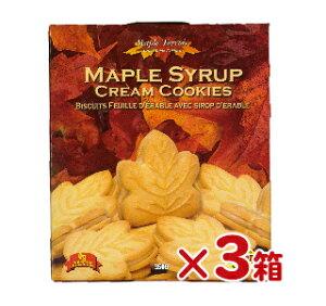 テロワール メープル・クッキー 350g ×3箱【クッキー カナダ お土産 カエデ メープルシロップ クリームサンド 】