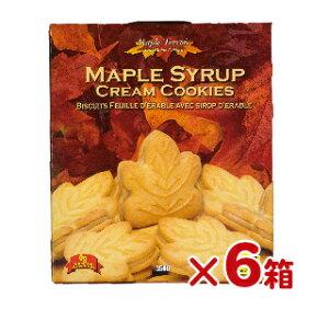 テロワール メープル・クッキー 350g ×6箱【クッキー カナダ お土産 カエデ メープルシロップ クリームサンド 】