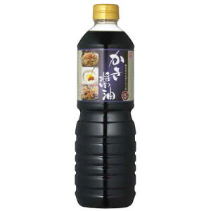 マルキン かき醤油 1L 【盛田 牡蠣醤油 だし醤油】