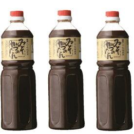 盛田 かがや イチミツボシ みそかつのたれ 1150g × 3本 【加賀谷醤油】