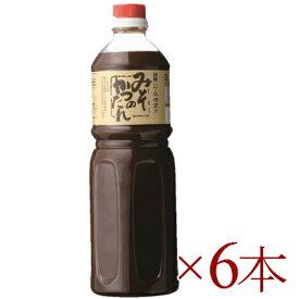 《送料無料》 盛田 かがや イチミツボシ みそかつのたれ 1150g × 6本 【加賀谷醤油】《あす楽》