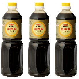 盛田 イチミツボシ ビクトンお好みソース全糖 1L × 3本