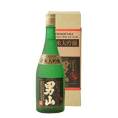 《送料無料》男山 純米大吟醸(化粧箱入り) 720ml [清酒 男山 北海道]【お酒 日本酒 おとこやま やや辛口】《あす楽》