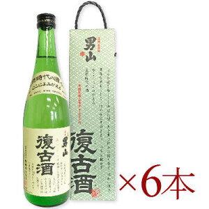 《送料無料》 男山 復古酒(化粧箱入り) 720ml × 6本[清酒 男山 北海道]【お酒 日本酒 超甘口 純米酒 おとこやま】