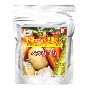 ベジクック 90g [TAC21] 【顆粒 無添加 コンソメ ブイヨン 洋風だし スープの素】