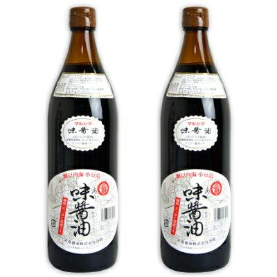 丸島醤油 味醤油(だし醤油)900ml × 2本 《あす楽》