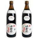丸島醤油 味醤油(だし醤油)900ml × 2本
