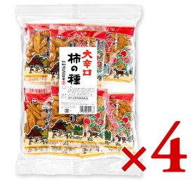 浪花屋製菓 大辛口柿の種 徳用袋 224g(16g×14袋入)× 4個