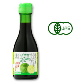 ヒカリ 職人の夢 こんなぽん酢が造りたかった 有機すだちぽん酢 180ml [光食品 有機JAS]《あす楽》