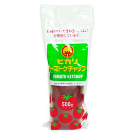 【 SS期間限定 クーポン発行中! 】ヒカリ トマトケチャップ 500g (チューブ)[光食品]