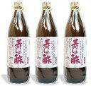 《送料無料》 丸正酢醸造元 古来上寿しの酢 900ml × 3本 《あす楽》