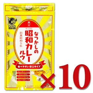 《送料無料》水牛印 なつかしの昭和カレールウ 甘口 120g × 10袋 [水牛食品]