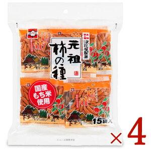 浪花屋製菓 柿の種徳用袋 240g(15分包)× 4袋