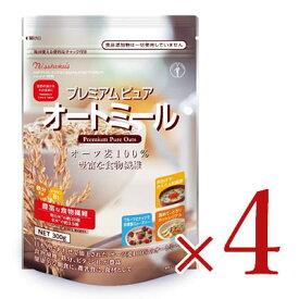 《送料無料》日本食品製造 日食 プレミアムピュアオートミール 300g×4個セット《あす楽》