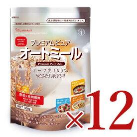 《送料無料》日本食品製造 日食 プレミアムピュアオートミール 300g × 12個セット《あす楽》