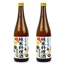 住乃井 純米料理酒 720ml × 2個
