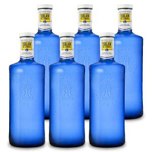 《送料無料》スリーボンド貿易 ソラン・デ・カブラス ナチュラルミネラルウォーター 1000ml[ガラス瓶] × 6本セット ケース販売