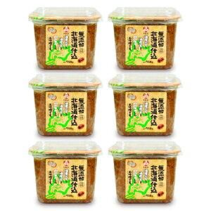 《送料無料》福山醸造 トモエ 北海道仕込み赤つぶ750g × 6個