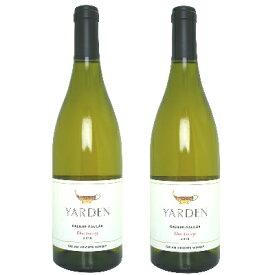 Yarden ヤルデン シャルドネ 750ml ×2本 [白ワイン 辛口 イスラエル]《あす楽》