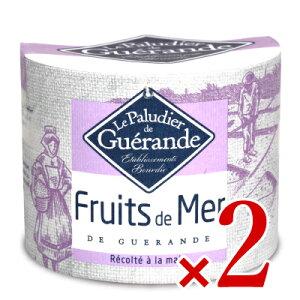 アクアメール ゲランドの塩「海の果実」125g × 2個