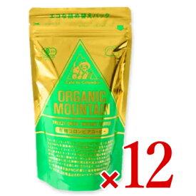 《送料無料》ダーボン オーガニックマウンテン有機インスタントコーヒー 80g × 12袋 (詰替用)[有機JAS]