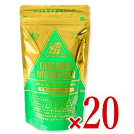 《送料無料》ダーボン オーガニックマウンテン有機インスタントコーヒー 80g × 20袋 (詰替用)[有機JAS]
