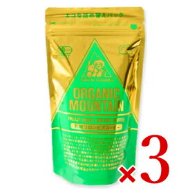 ダーボン オーガニックマウンテン有機インスタントコーヒー 80g × 3袋 (詰替用)[有機JAS]
