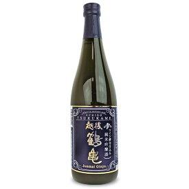 越後鶴亀 ワイン酵母仕込み 純米吟醸 720ml《あす楽》
