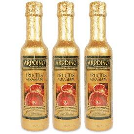 《送料無料》フードライナー アルドイノ EXV オリーブオイル フルクトゥス ブラッドオレンジ風味 250ml × 3個 セット