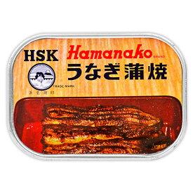 《メール便選択可》浜名湖食品 うなぎ蒲焼缶詰 100g《あす楽》