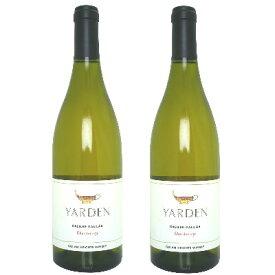 《送料無料》Yarden ヤルデン シャルドネ 750ml ×2本 [白ワイン 辛口 イスラエル]