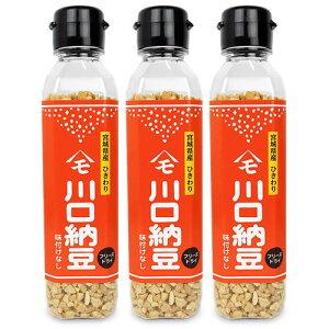 川口納豆 乾燥納豆 65g × 3本
