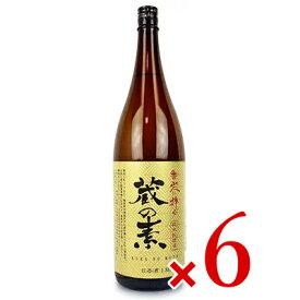 《送料無料》大和川酒造店 蔵の素 純米料理酒 1800ml × 6本 (契約栽培米) ケース販売