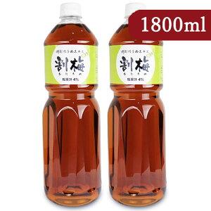 宮崎本店 焼酎用 うめエキス「割梅」1800ml × 2本