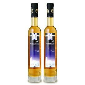 《送料無料》ノーザン・アイス ヴィダル アイスワイン 375ml × 2本 [白ワイン 極甘口 アイスワイン]【果実酒 ワイン お酒 カナダ VQA】