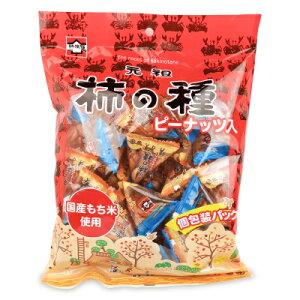浪花屋製菓 元祖柿の種 ピーナッツ入り 個包装パック 170g