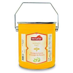 《送料無料》Nectaflor ネクタフロー スイス産 純粋はちみつ オレンジ 2kg